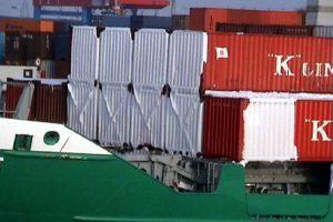 Eis auf Container
