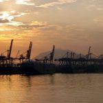 Hafenansicht von Santos