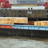 Hafenumschlag Bewitterung zwangsläufig